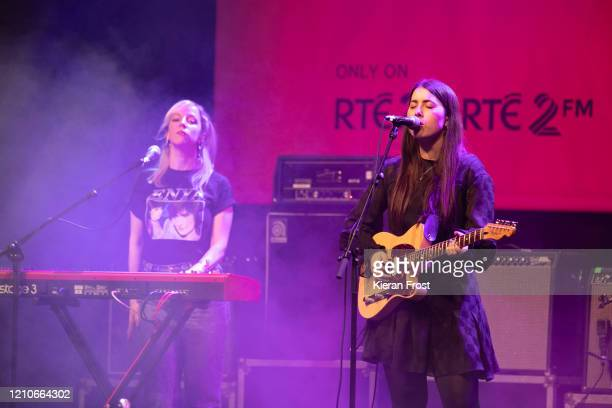Sorcha Richardson performs at the RTE Choice Music Prize at Vicar Street on March 05, 2020 in Dublin, Dublin.
