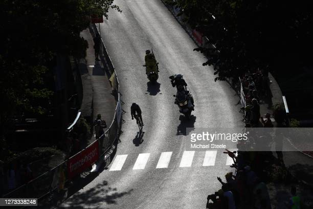 Soren Kragh Andersen of Denmark and Team Sunweb / Shadow / during 107th Tour de France 2020, Stage 19 a 166,5km stage from Bourg en Bresse to...