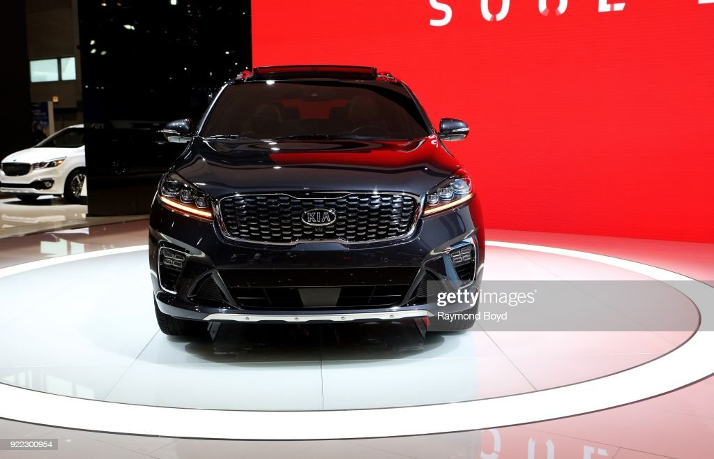 Sorento SXL is on display at the 110th Annual Chicago Auto Show at McCormick Place in Chicago, Illinois on February 9, 2018.