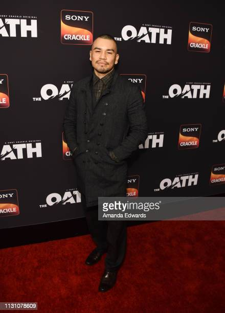 J Soria arrives at Sony Crackle's 'The Oath' Season 2 exclusive screening event at Paloma on February 20 2019 in Los Angeles California