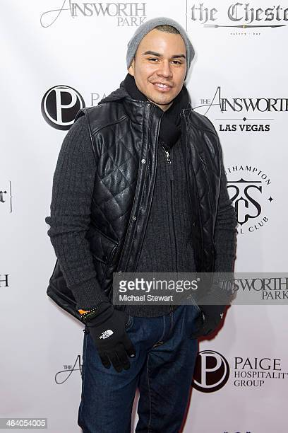 Soria attends Paige Hospitality Group's Third Annual Sundance Football Game Watch on January 19 2014 in Park City Utah
