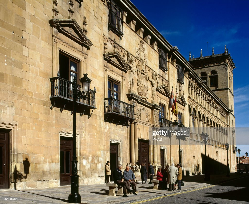 soria castile and leon spain palace of the counts of gomara it