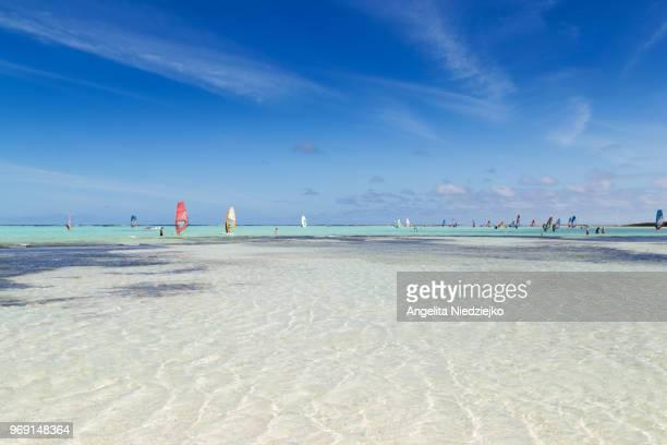 sorobon beach, bonaire - ボネール島 ストックフォトと画像