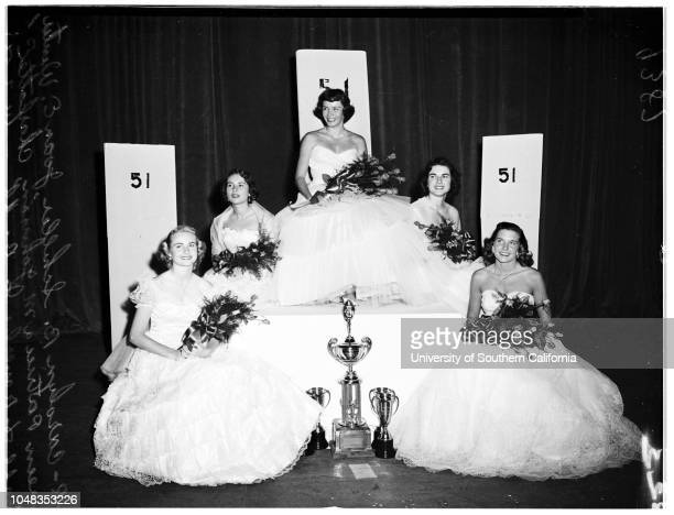Sorority RowUniversity of Southern California HomecomingUniversity of Southern California Homecoming Queen 7 November 1951 Patricia M 'Pat' Johnson...