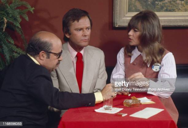 Sorrell Booke Dick Sargent Nita Talbot appearing in the ABC tv series 'Honeymoon Suite'
