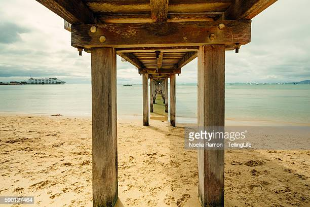 Sorrento bay, under the pier, Mornington Peninsula, Victoria, Australia