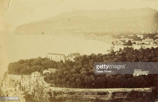 Sorrento Unknown 1860 1869 Albumen silver print 6 x 94 cm
