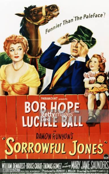 Lucille Ball Bob Hope Mary Jane Saunders 1949