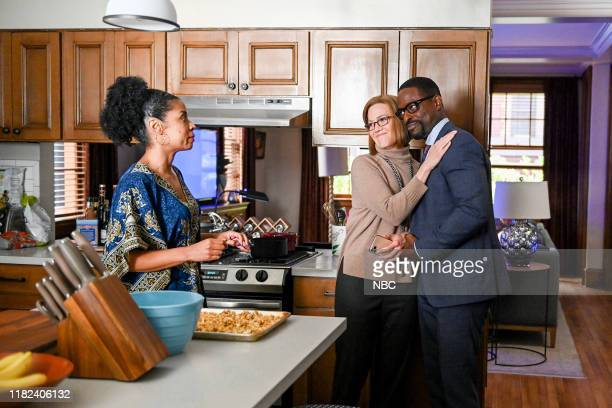 US Sorry Episode 408 Pictured Susan Kelechi Watson as Beth Mandy Moore as Rebecca Sterling K Brown as Randall