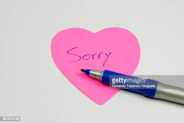 sorry posit - reconciliation stock photos and pictures
