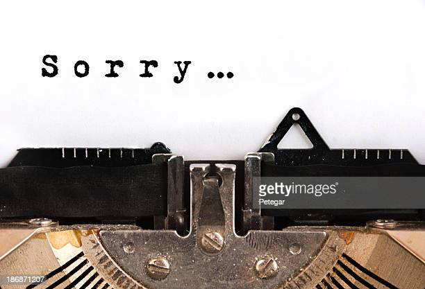 Sorry Typewriter