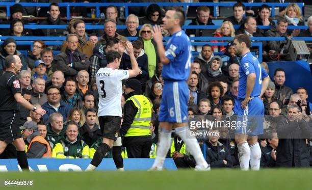Sortie Wayne BRIDGE / John TERRY Chelsea / Manchester City 28e journee Premier league Photo Dave Winter / Icon Sport
