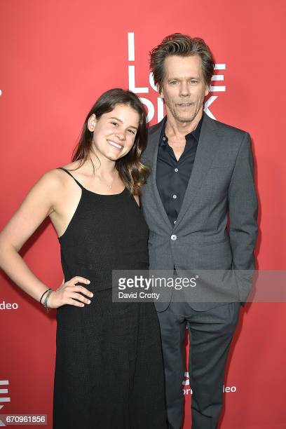 Sosie Bacon and Kevin Bacon attend the Premiere Of Amazon's 'I Love Dick' Arrivals on April 20 2017 in Los Angeles California