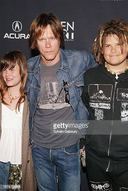Sosie Bacon Kevin Bacon Travis Bacon during Gen Art Film Festival opens with the premiere of Loverboy at The Ziegfeld Theater in New York New York...
