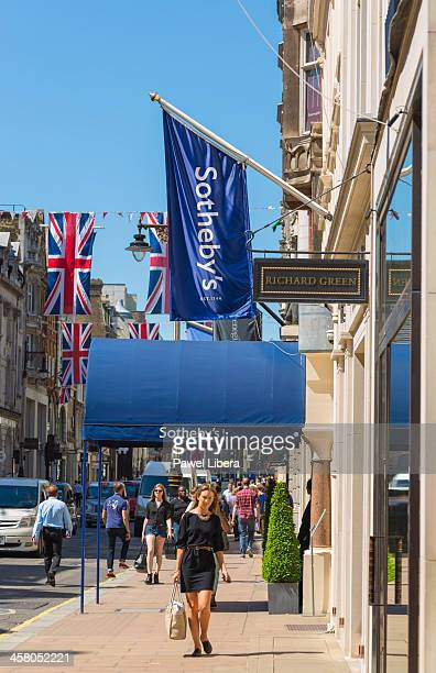 Sotheby's Auction House in Old Bond Street