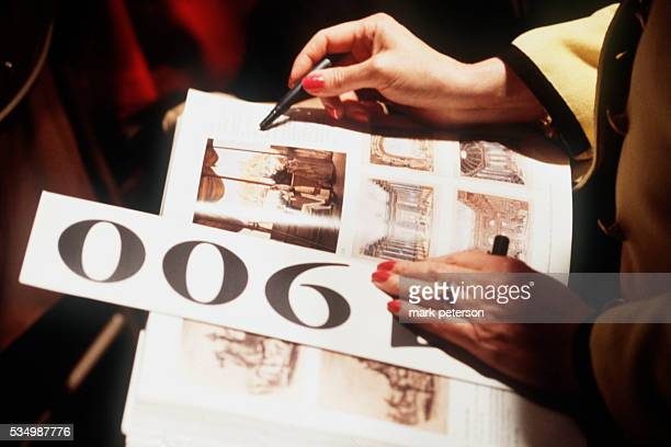 Sotheby's auction of Jackie Onassis memorabilia Photo by Mark Peterson/Corbis SABA