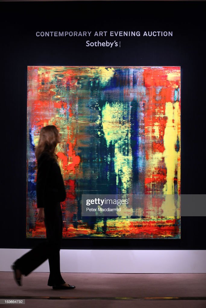 Highlights From Sotheby's Forthcoming London And New York Sales On Display : News Photo