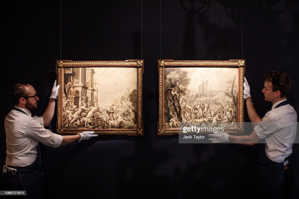 Sotheby's Royal And Noble Sale Preview : News Photo