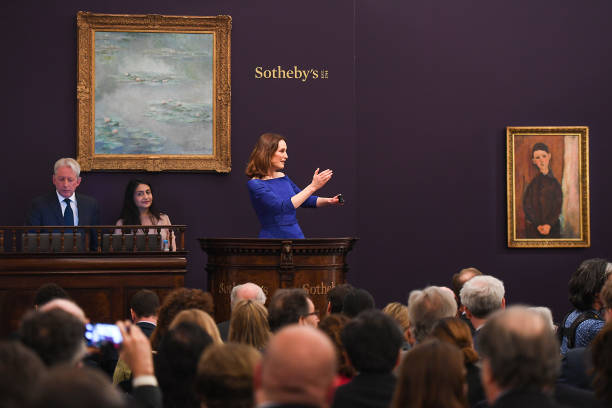 GBR: Sotheby's Impressionist Art Evening Auction