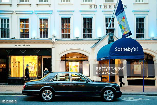 sotheby's, london - auction stock pictures, royalty-free photos & images