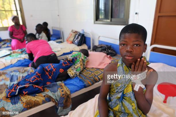 Sotoboua hospital Pediatric unit Togo Africa