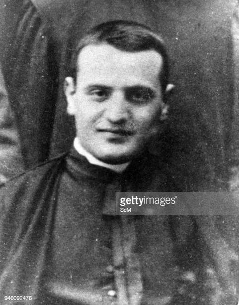 Sotto il Monte, Bergamo-The seminarian Angelo Giuseppe Roncalli. Pope John XXIII, Ioannes XXIII), born Angelo Giuseppe Roncalli 25 November 1881 _ 3...
