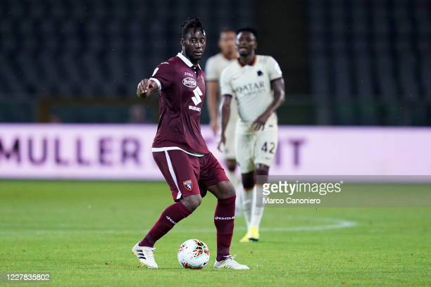Soualiho Meite of Torino FC in action during the Serie A match between Torino Fc and As Roma As Roma wins 32 over Torino Fc