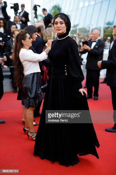 Soudabeh Beizaee attends the 'Based On A True Story' screening during the 70th annual Cannes Film Festival at Palais des Festivals on May 27 2017 in...