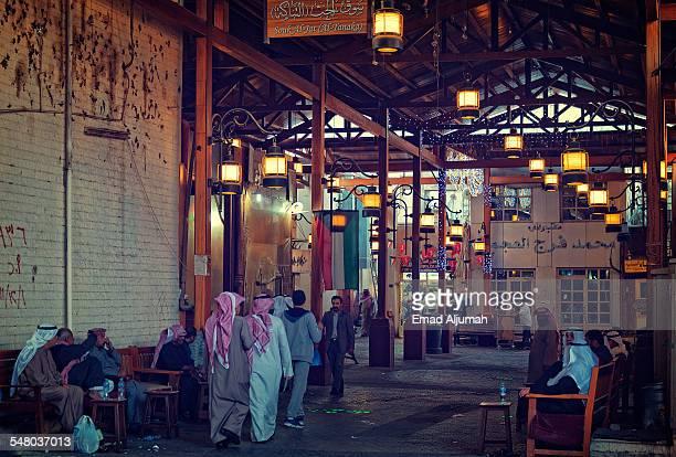 souk al-jat (al-tanaka) in al-mubarkiya - kuwait city stock pictures, royalty-free photos & images