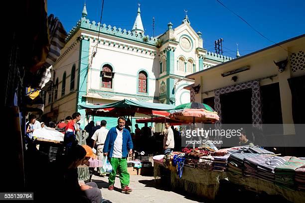 Souk el Harras market a formerly Jewish neighborhood in the old city