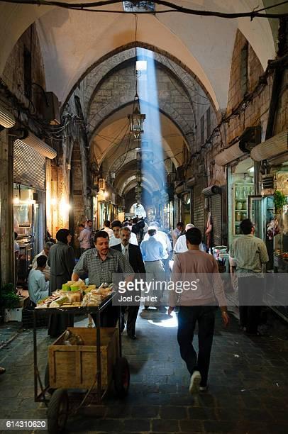 Souk in Aleppo, Syria