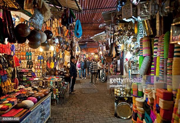 souk sensation, marrakech, morocco - morocco 個照片及圖片檔