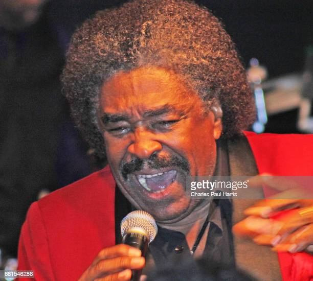 Soul and Disco singer George McCrae performs at the Porretta Soul Festival. JULY 22, 2016 at Porretta Terme, Emilia Romagna, Italy.