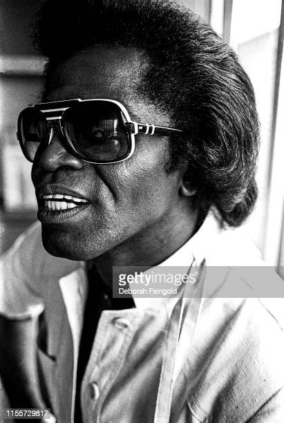 Soul and funk singer and performer James Brown poses for a portrait in 1979 in New York City New York