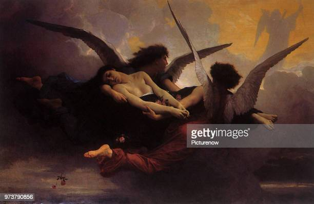 Soul Brought to Heaven Bouguereau AdolpheWilliam 1878