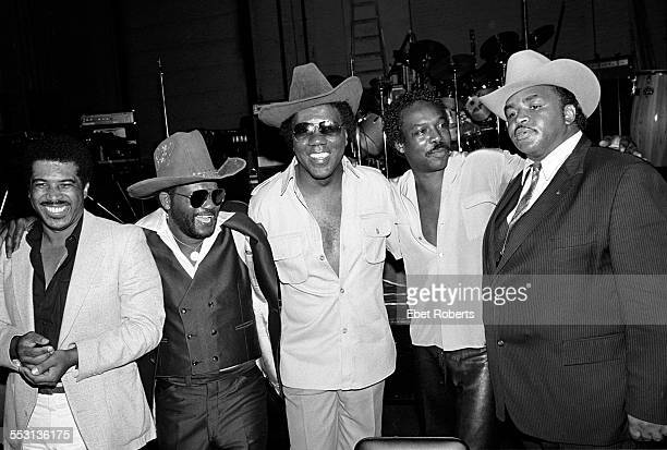 Soul Clan at the Savoy in New York City on July 23,1981. Ben E. King, Joe Tex, Don Covay, Wilson Pickett and Solomon Burke.