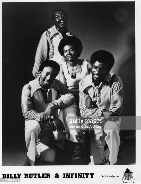 Soul group Billy Butler And Infinity poses for a portrait in circa 1973