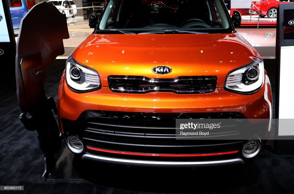 Soul is on display at the 110th Annual Chicago Auto Show at McCormick Place in Chicago, Illinois on February 9, 2018.
