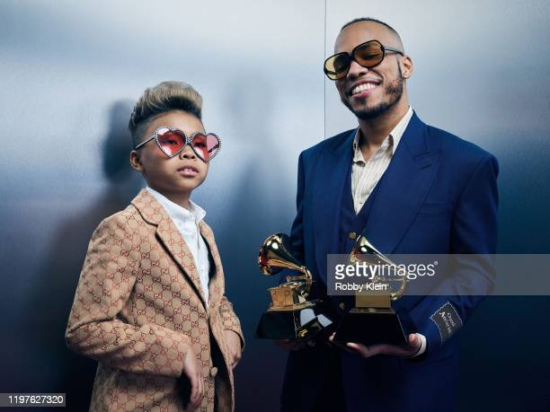 Soul Rasheed and Anderson Paak of 'Come Home' poses for a portrait during the 62nd Annual GRAMMY Awards on January 26 2020 in Los Angeles California