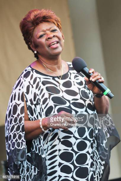 Soul / rb singer Irma Thomas performs at the Chicago Blues Festival JUNE 11 2016 in Chicago Illinois