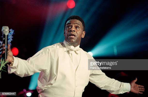 Soul singer Al Green performs on July 10th 1999 at the North Sea Jazz Festival in the Hague, Netherlands.
