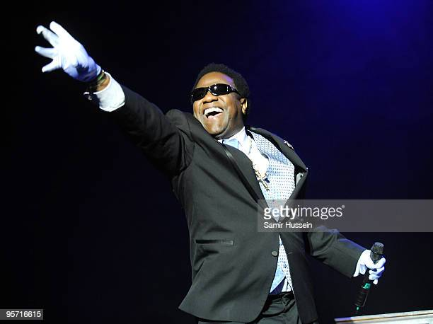 Soul singer Al Green performs on the first night of the Sydney Festival on January 9, 2010 at the Domain in Sydney, Australia.