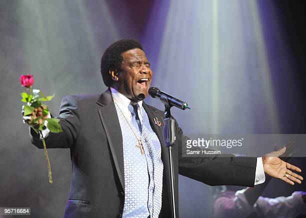 Soul singer Al Green performs on the first night of the Sydney Festival on January 9 2010 at the Domain in Sydney Australia