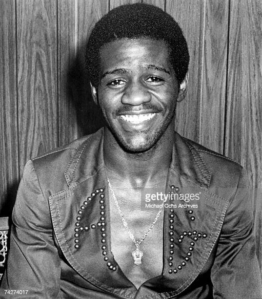Soul singer Al Green poses for a portrait in circa 1974.