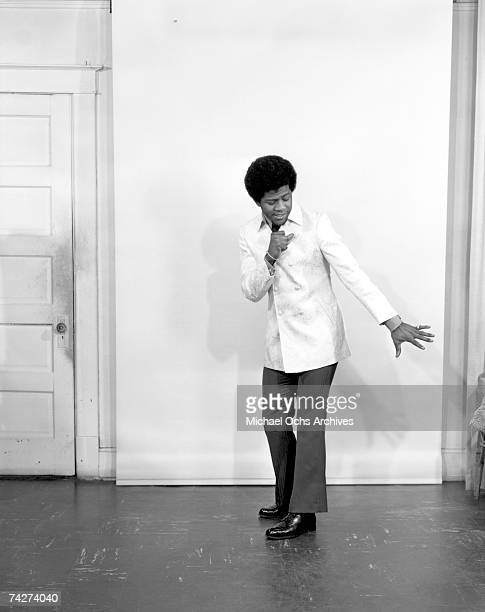 Soul singer Al Green poses for a portrait on April 15, 1969 in Memphis, Tennessee.