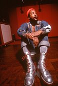 Soul singer and songwriter marvin gaye at golden west studios in 1973 picture id76017177?s=170x170