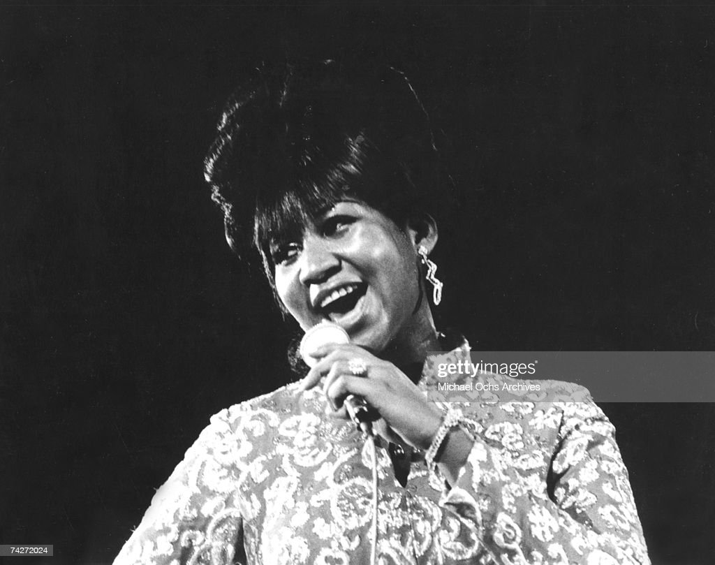 Queen Of Soul Performing : News Photo