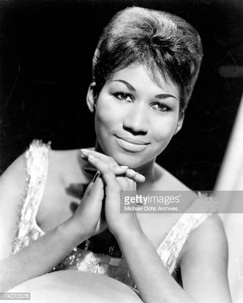 Soul singer Aretha Franklin poses for a ortrait in circa 1964