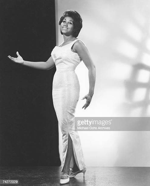 Soul singer Aretha Franklin poses for a portrait circa 1964 in New York city New York