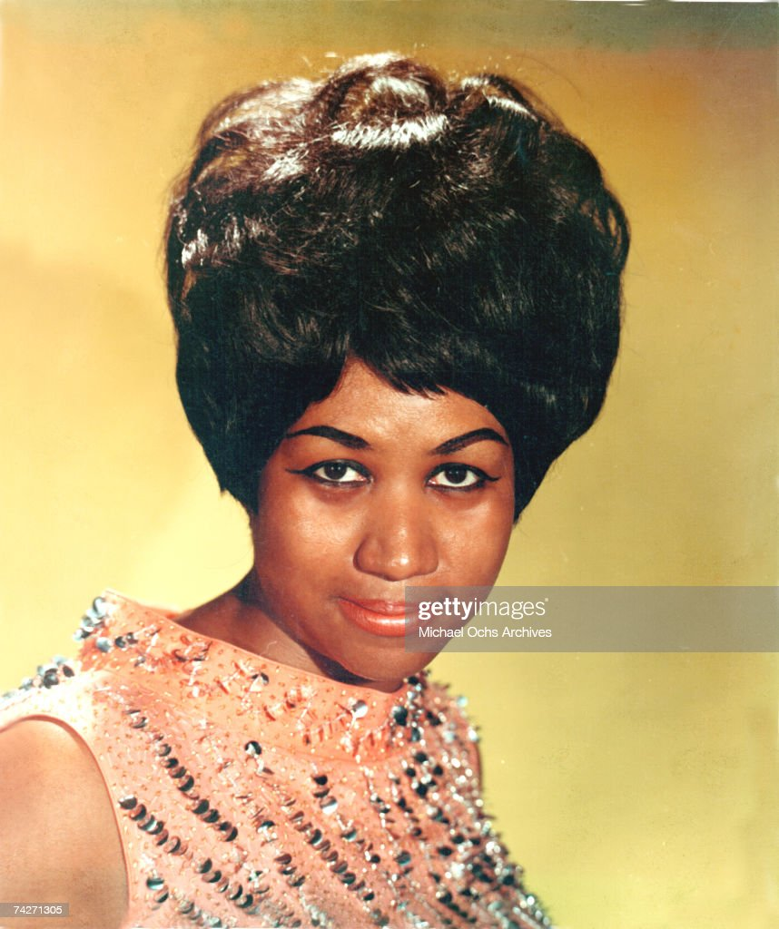 Soul singer Aretha Franklin poses for a portrait in circa 1964.